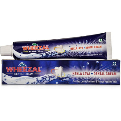 Wheezal Hekla Lava Dental Cream (Tooth Paste) (100g)