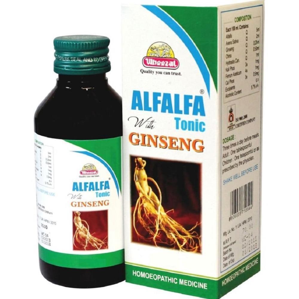 Wheezal Alfalfa With Ginseng (450ml)