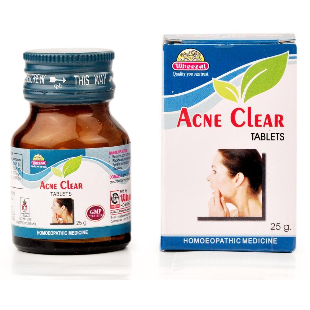 Wheezal Acne Clear Tablets (25g)