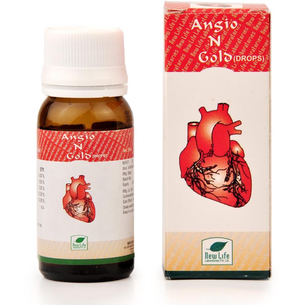 New Life Angio-N-Gold Drops (30ml)