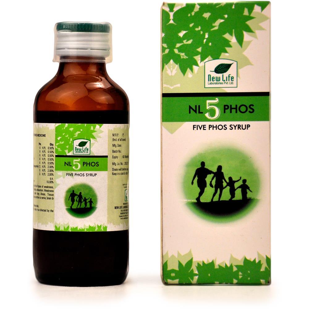 New Life 5 Phos Syrup (100ml)