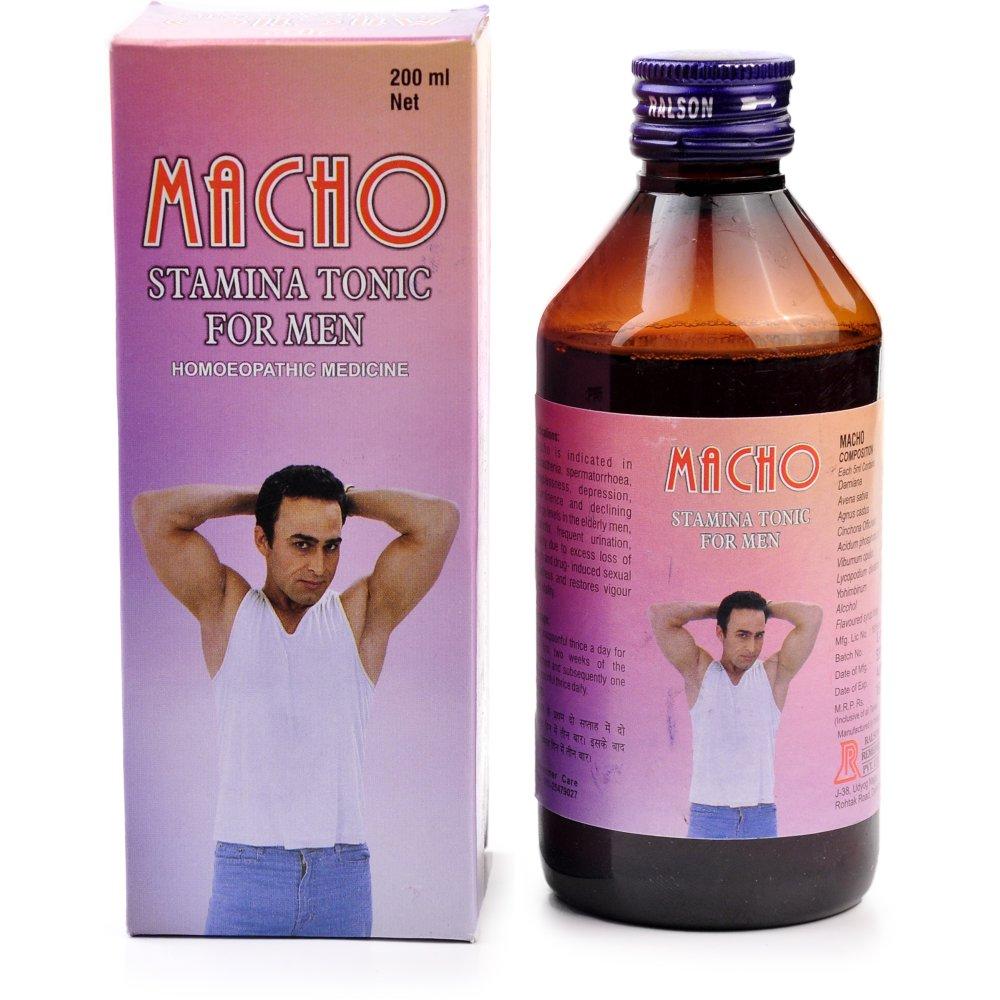 Ralson Macho Syrup (200ml)