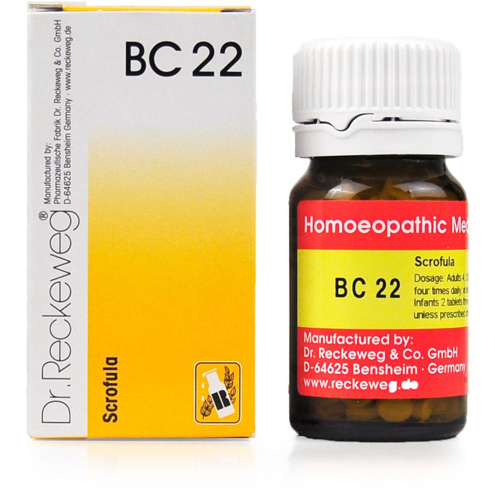 Dr. Reckeweg Bio Combination- BC 22 (20g)