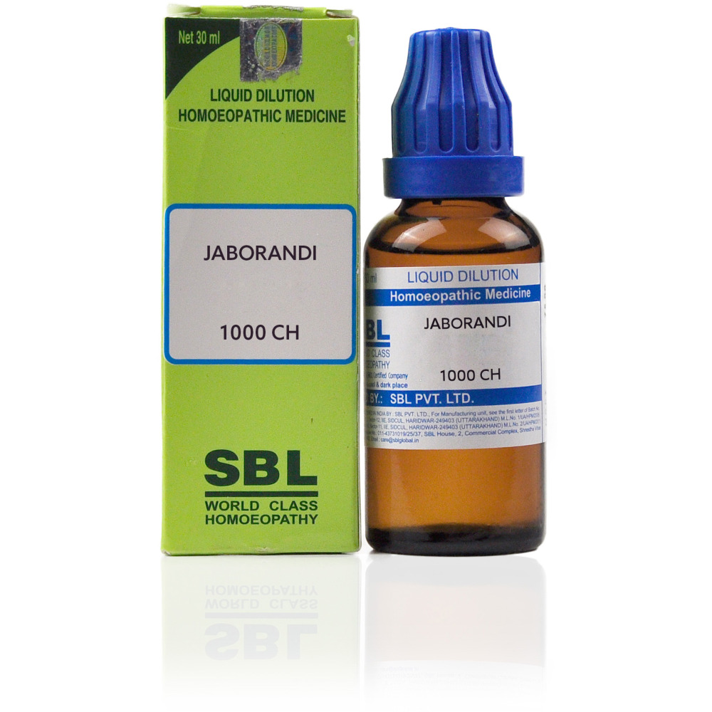 SBL Jaborandi 1000 CH (30ml)