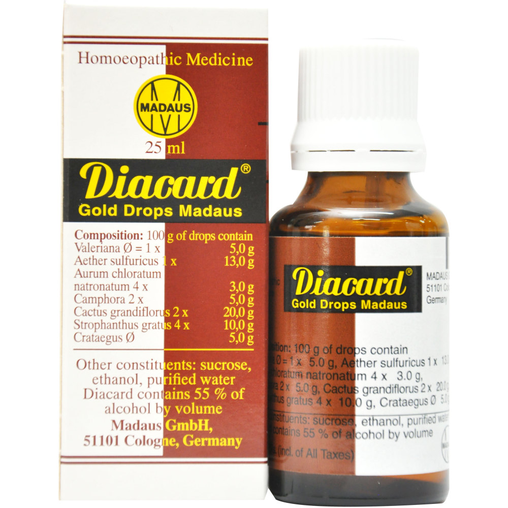 ADEL Madaus Diacard Gold Drops (25ml)