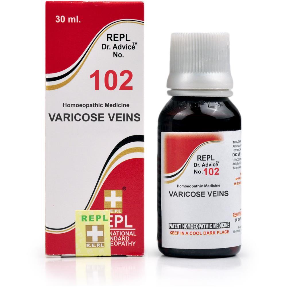 REPL Dr. Advice No 102 (Varicose Veins) (30ml)