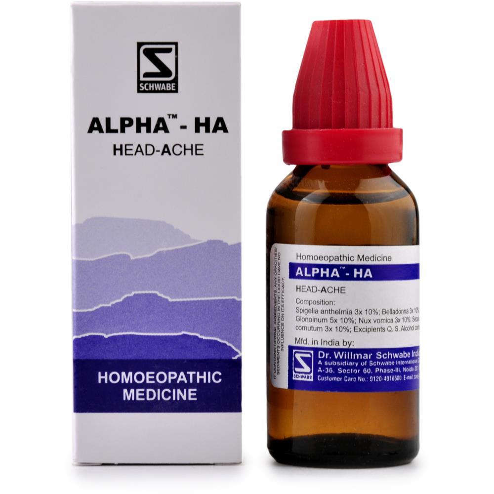 Willmar Schwabe India Alpha HA (Headache) (30ml)