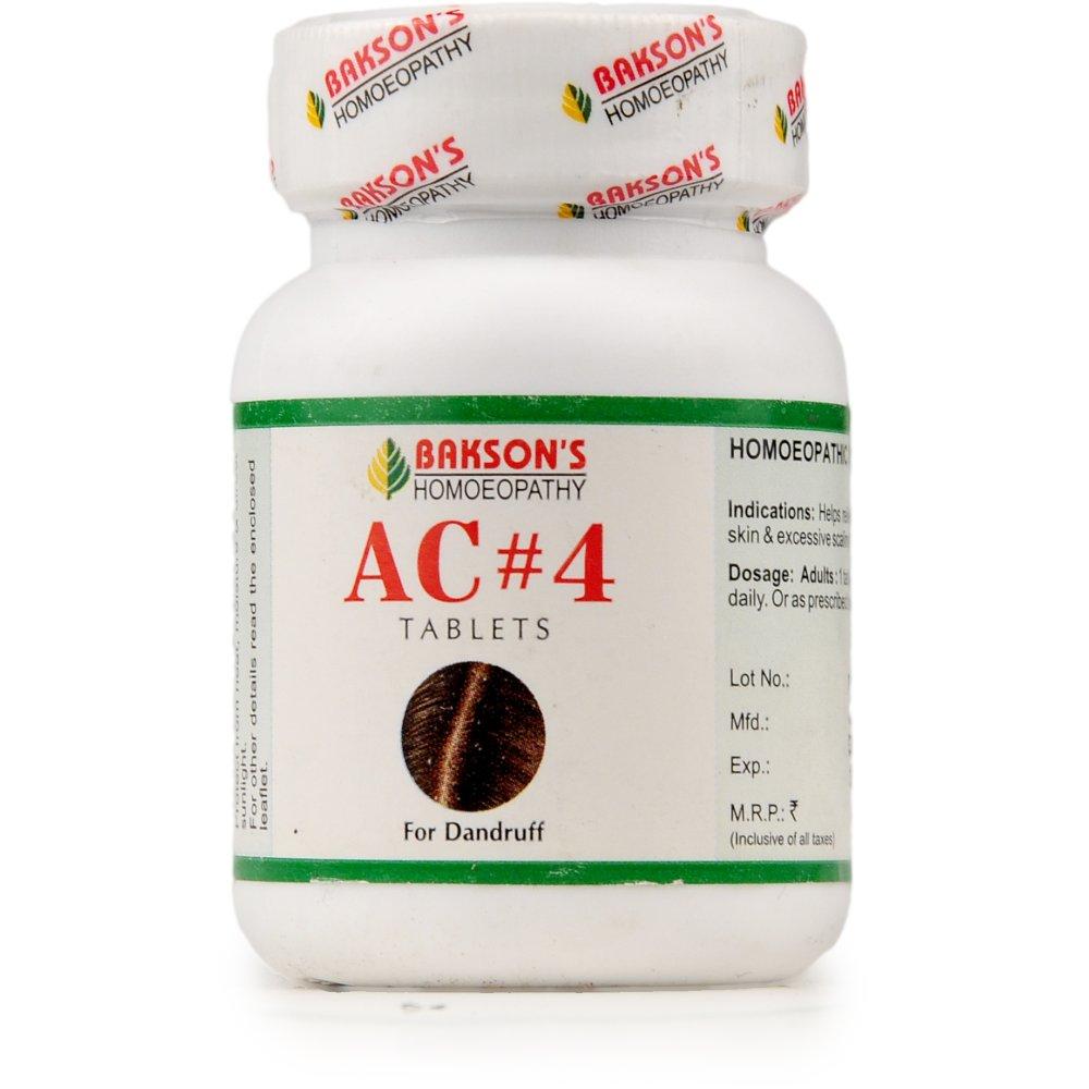 Bakson AC 4 Tablets (Dandruff) (75tab)