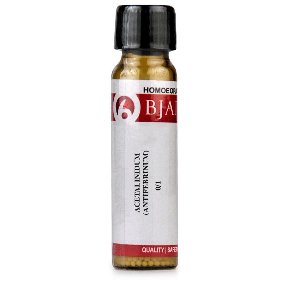 B Jain Acetalinidum (Antifebrinum)  LM 0/1 (6g)