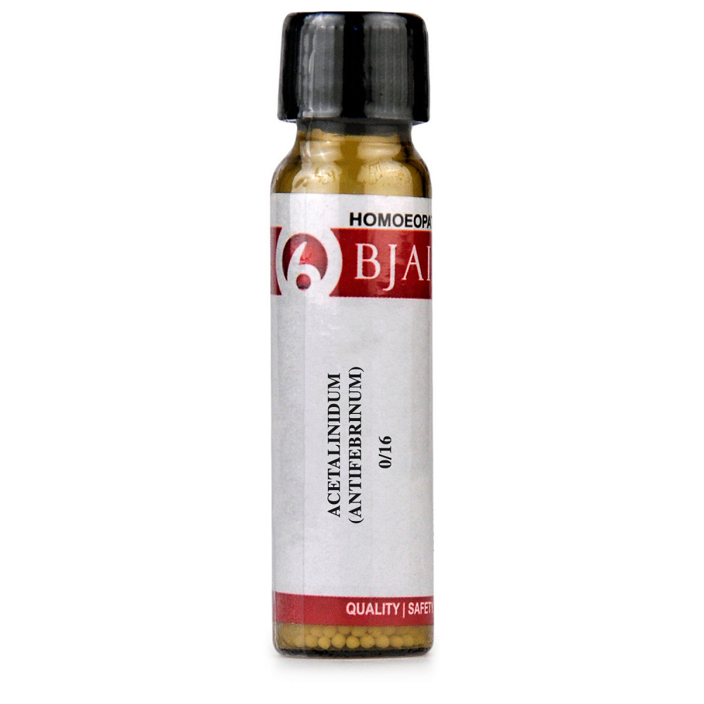 B Jain Acetalinidum (Antifebrinum)  LM 0/16 (6g)