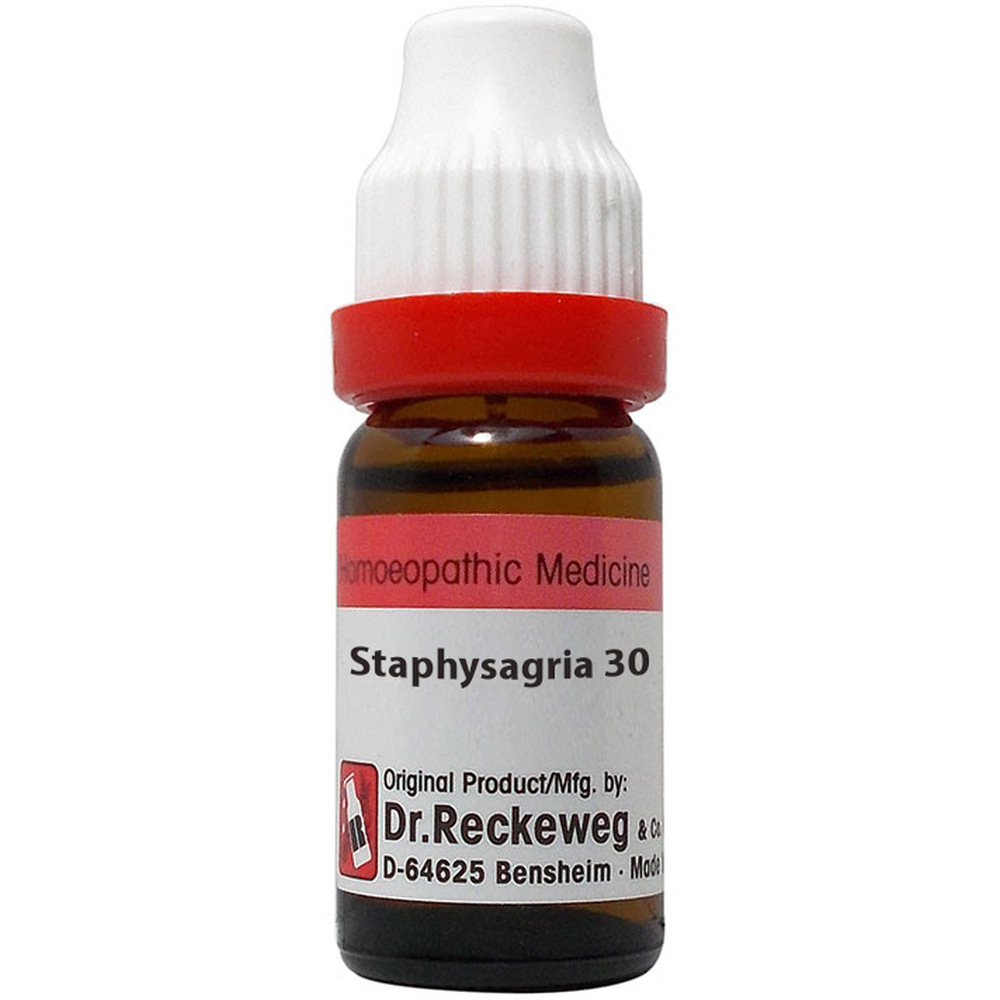 Dr. Reckeweg Staphysagria 30 CH (11ml)