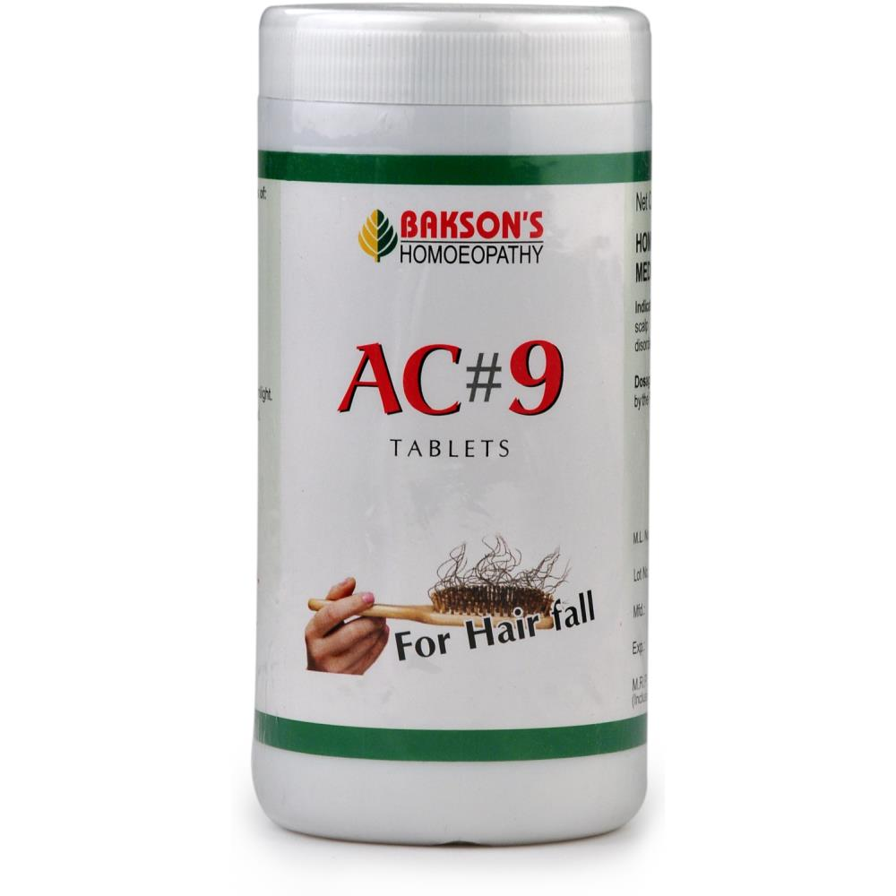 Bakson AC 9 Tablets (Hair Falling) (200tab)