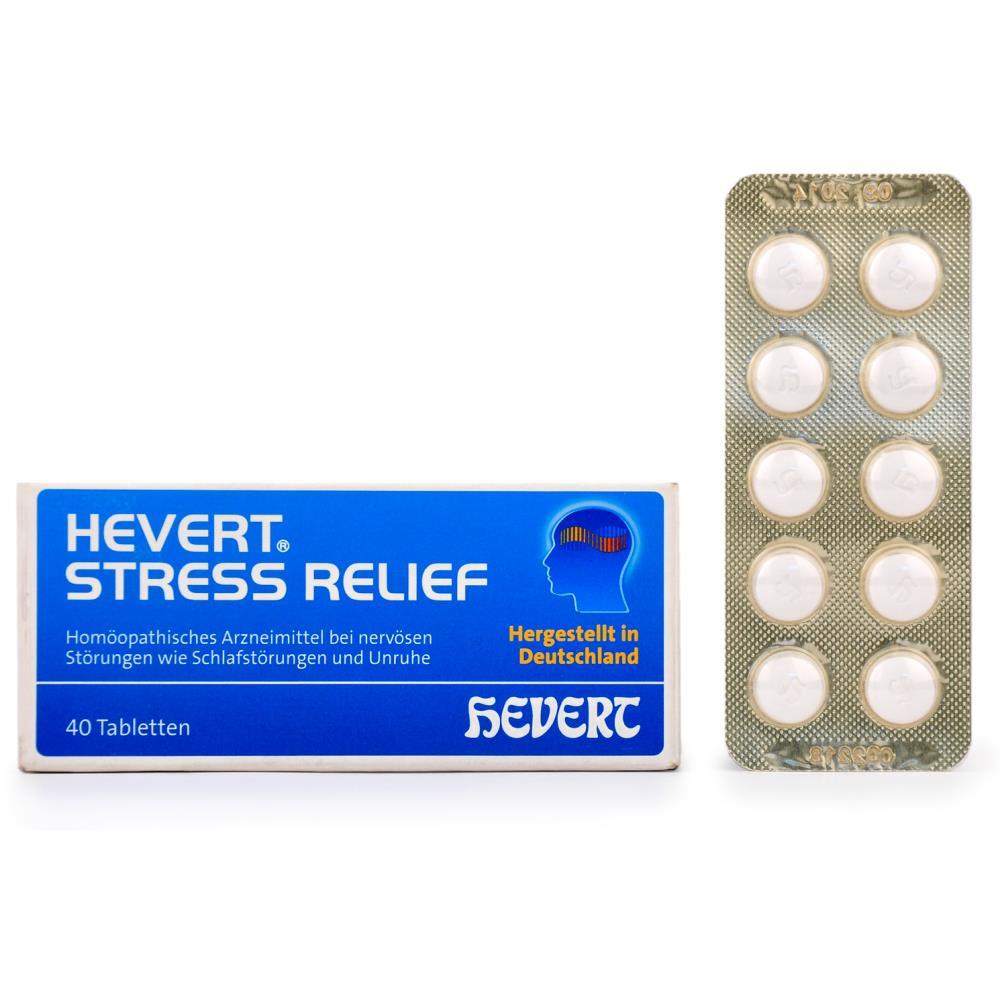 Hevert Stress Relief Tabs (40tab)