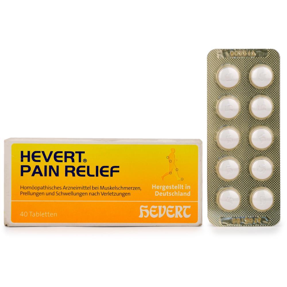 Hevert Pain Relief Tabs (40tab)