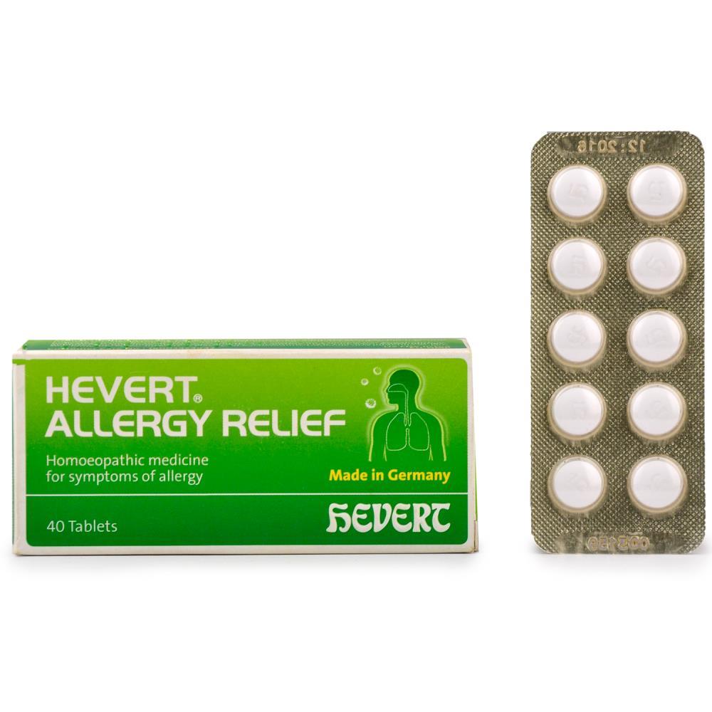 Hevert Allergy Relief Tabs (40tab)
