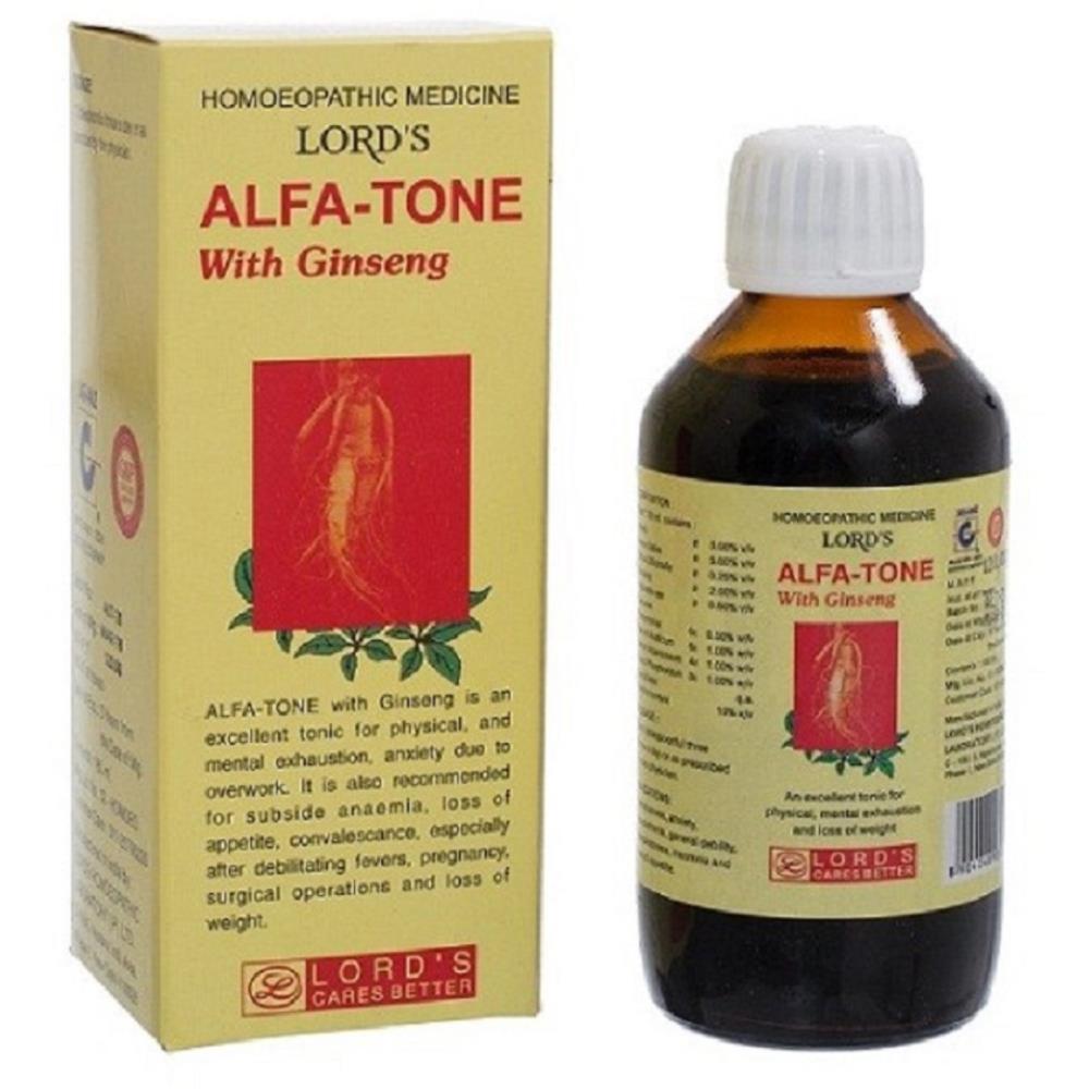 Lords Alfatone Ginseng Tonic (180ml)