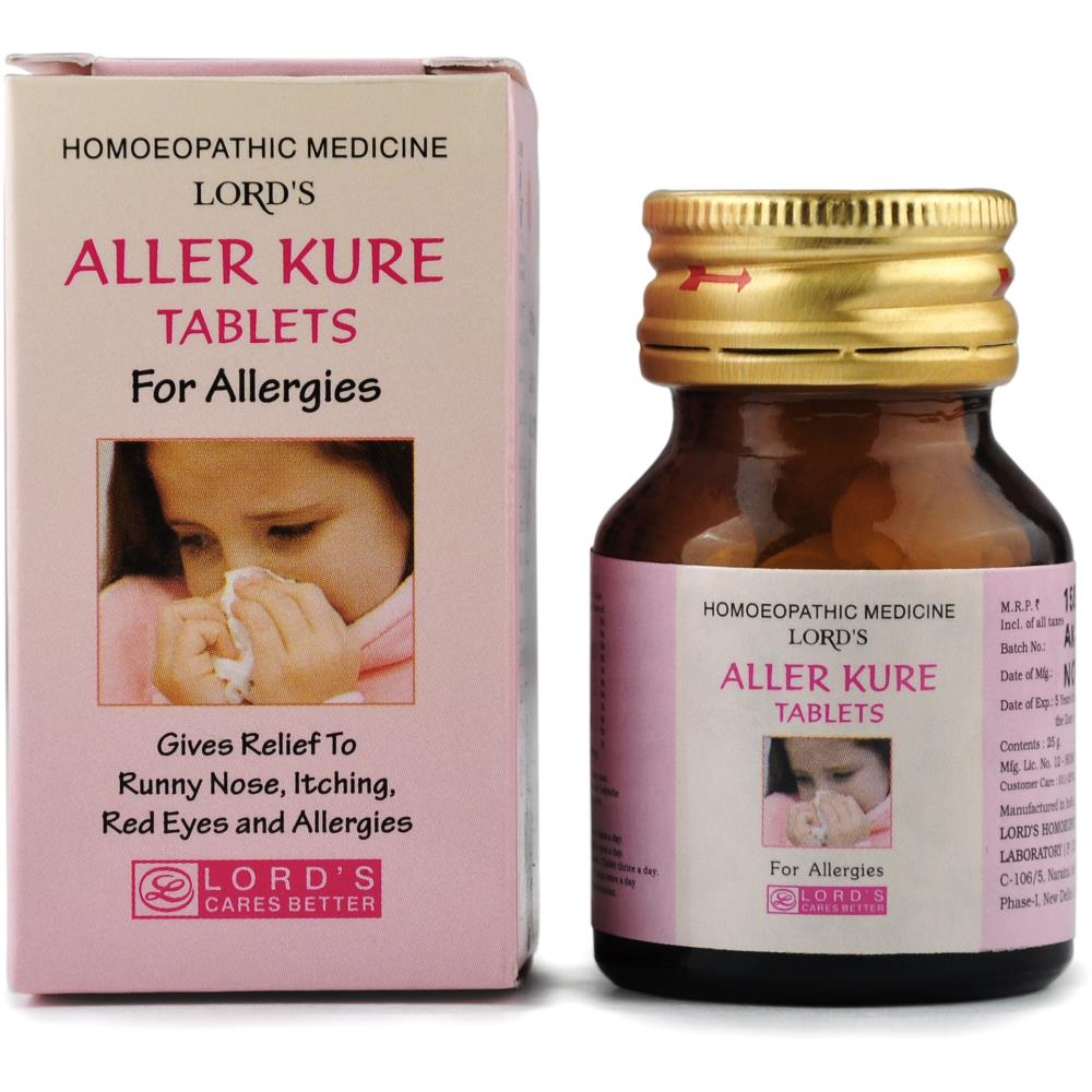Lords Aller Cure Tablets (25g)