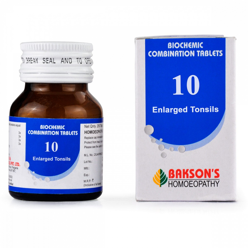 Bakson Biochemic Combination 10 (25g)