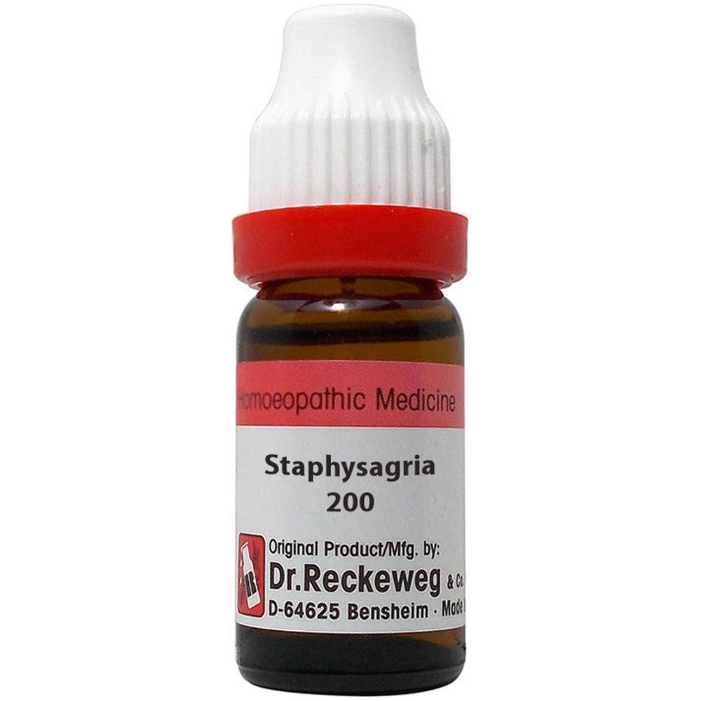 Dr. Reckeweg Staphysagria 200 CH (11ml)