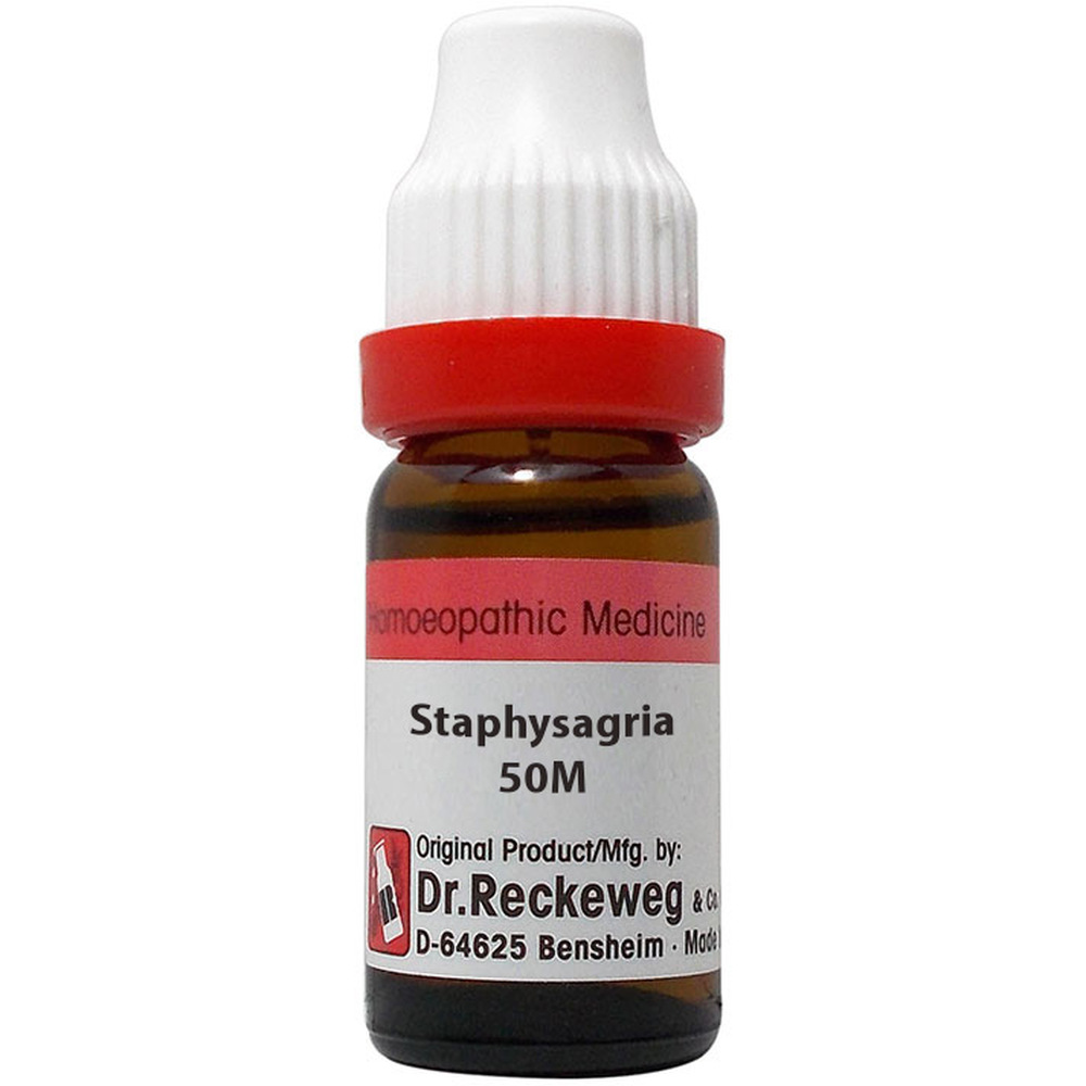 Dr. Reckeweg Staphysagria 50M CH (11ml)