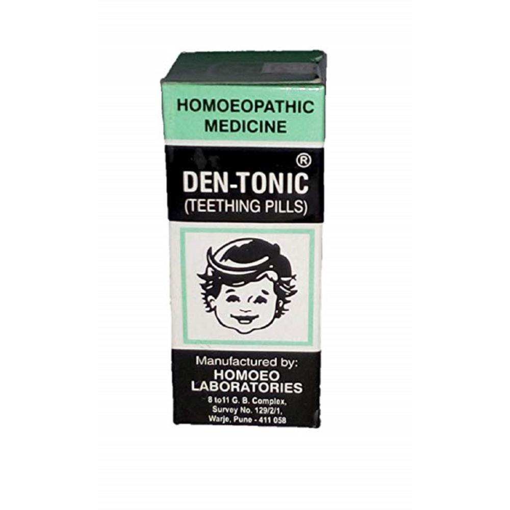 Homoeo Laboratories Den-Tonic (Teething Pills) (10g)
