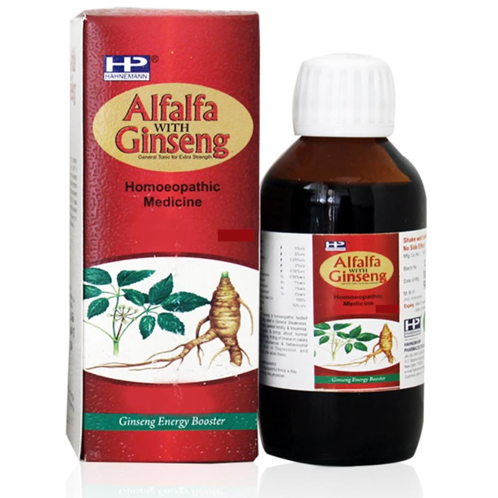 Hahnemann Alfalfa With Ginseng Syrup (450ml)