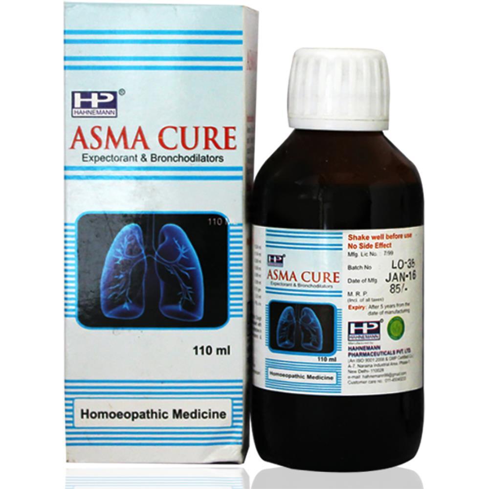 Hahnemann Asma Cure Syrup (110ml)