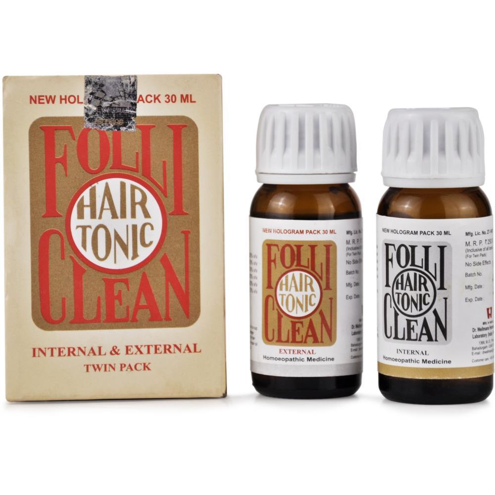 Dr. Wellmans Folli Clean Hair Tonic (60ml)