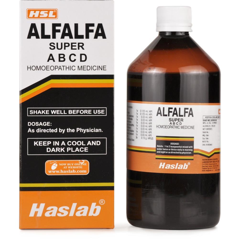 Haslab Alfalfa Super Tonic with Vitamin A B C D (450ml)