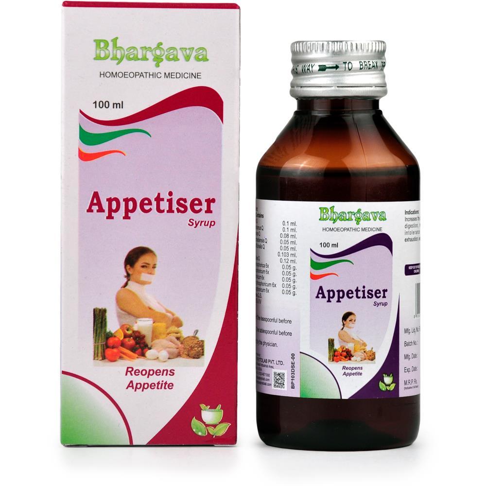 Dr. Bhargava Appetiser Syrup (100ml)