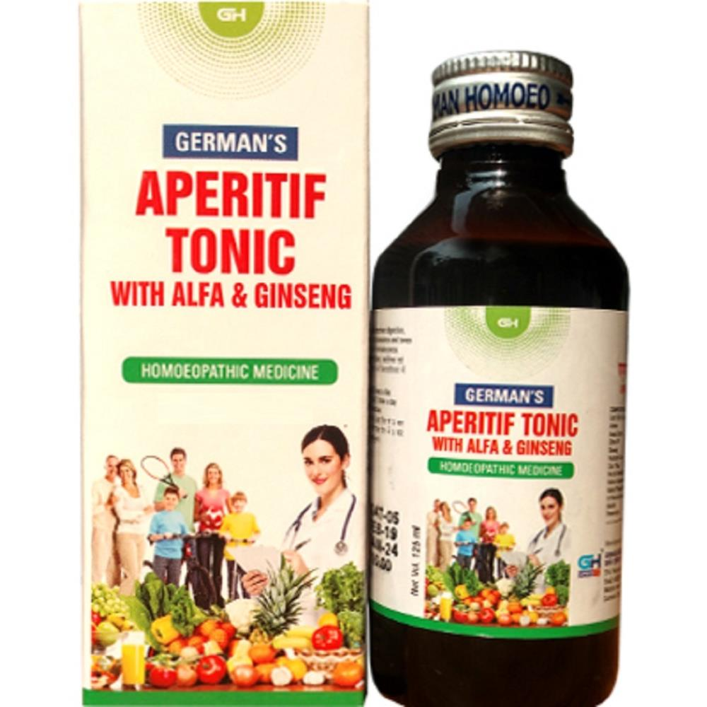 German Homeo Care & Cure Aperitif Tonic With Alfa & Ginseng (125ml)