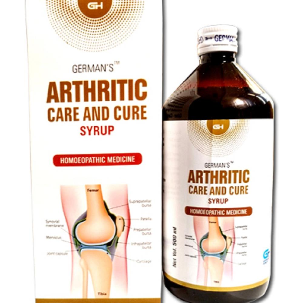 German Homeo Care & Cure Arthritic Syrup (500ml)