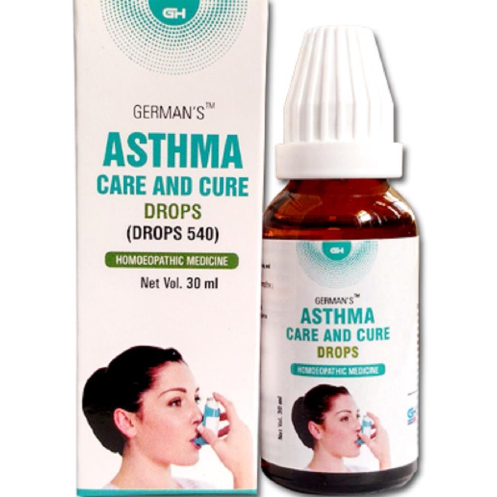 German Homeo Care & Cure Asthma Drops 540 (30ml)