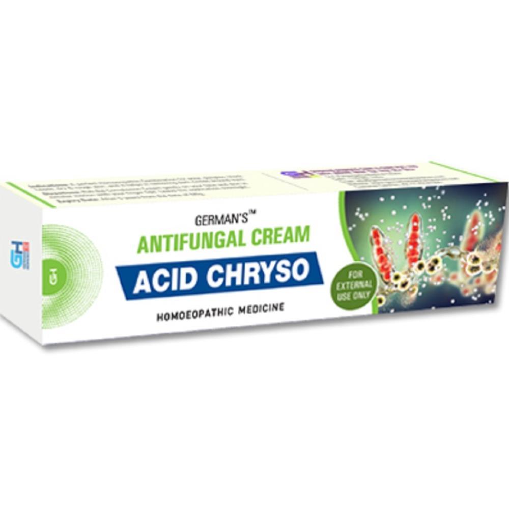 German Homeo Care & Cure Acid Chryso Antifungal Cream (25g)