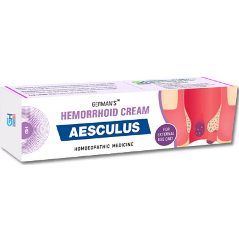 German Homeo Care & Cure Aesculus Hemorrhoid Cream (25g)