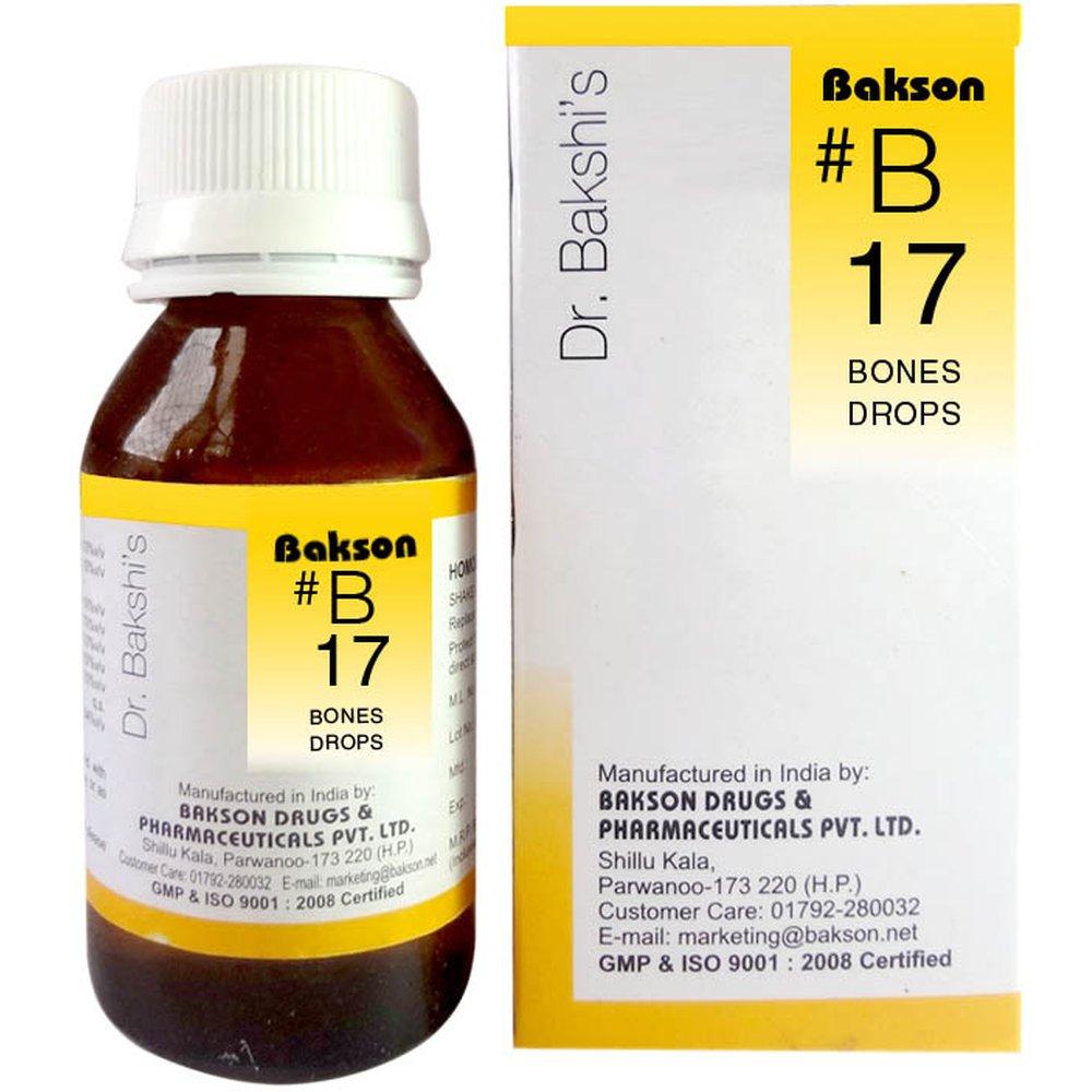 Bakson B17 Bones Drops (30ml)