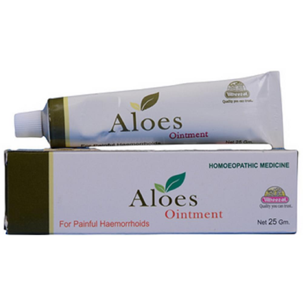 Wheezal Aloes Ointment (25g)