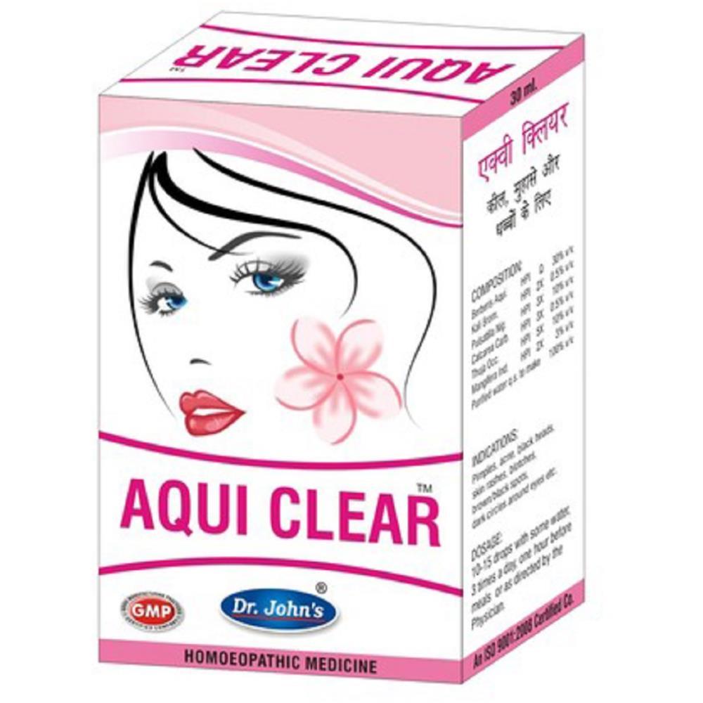 Dr John Aqui Clear Drops (30ml)