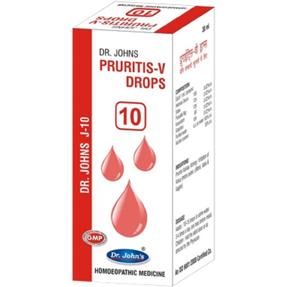 Dr John J 10 Pruritus-V Drops (30ml)