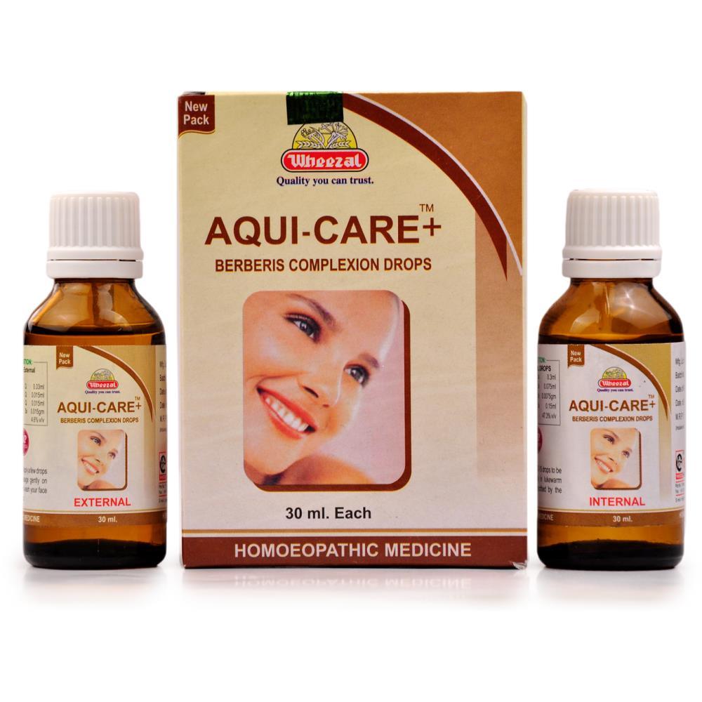 Wheezal Aqui Care Twin Pack (60ml)