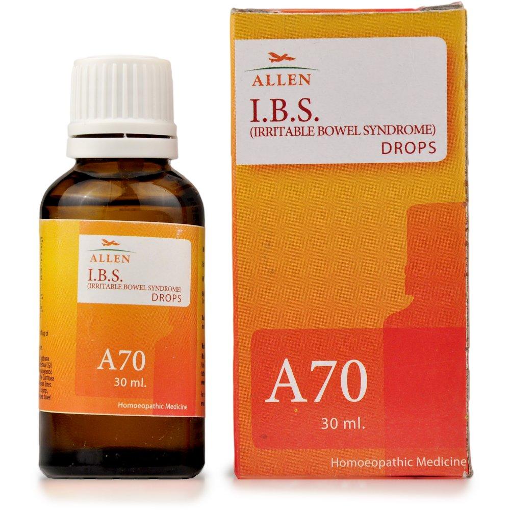 Allen A70 Irritable Bowel Syndrome (IBS) Drops (30ml)