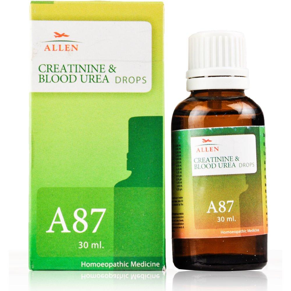Allen A87 Creatinine and Blood Urea Drops (30ml)
