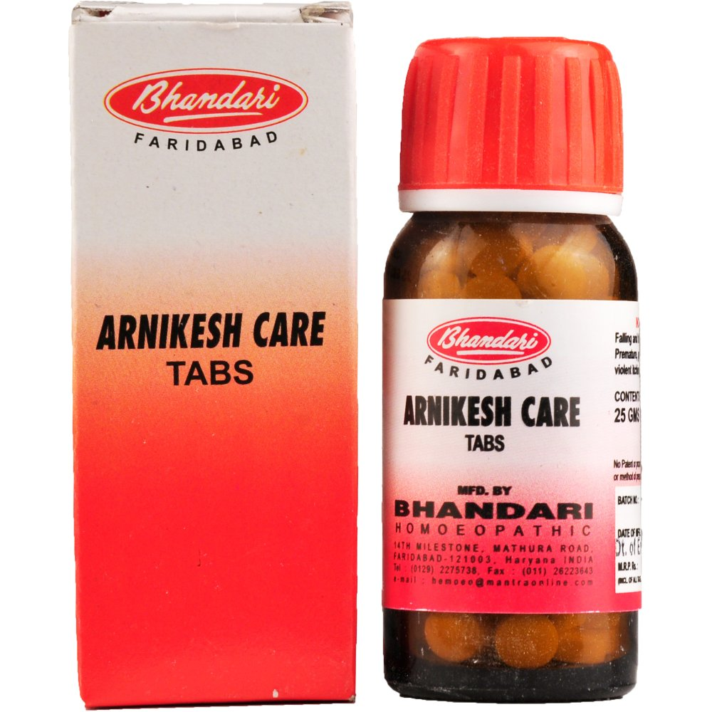 Bhandari Arnikesh Care Tablets (25g)