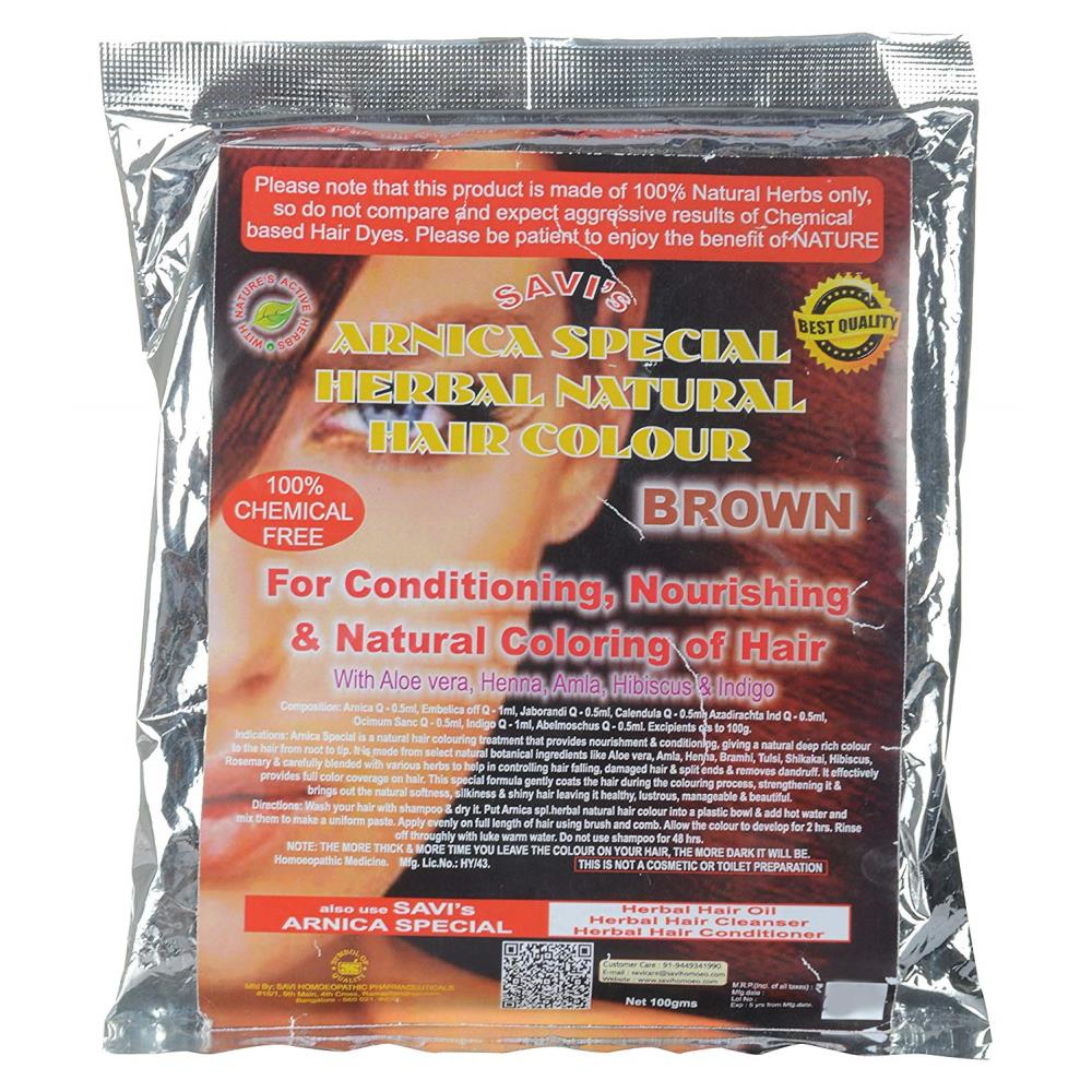 BHP Arnica Special Herbal Natural Hair Colour (Brown) (100g)