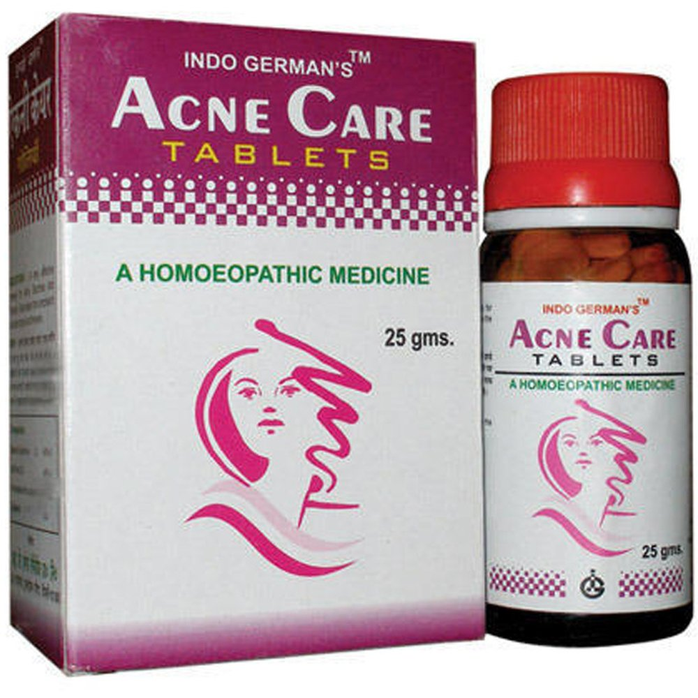 Indo German Acne Care Tablets (25g)