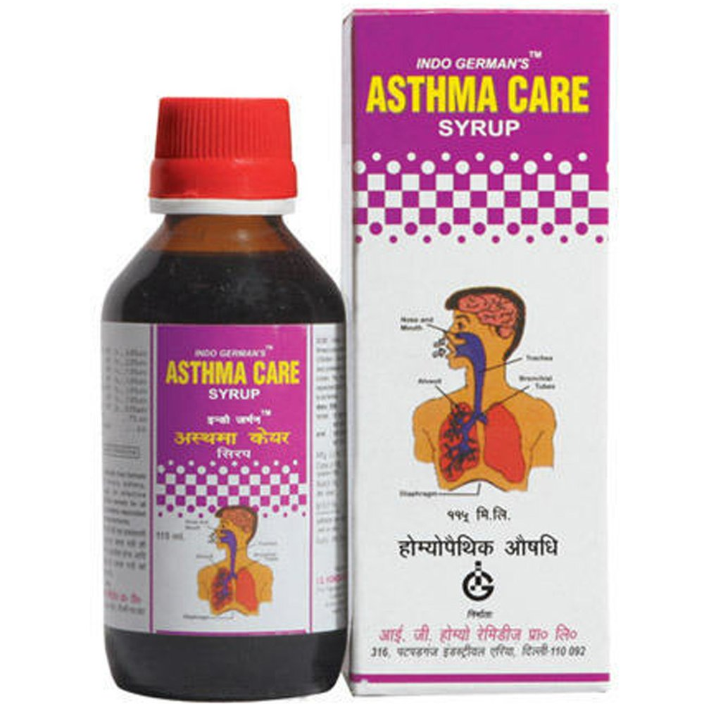 Indo German Asthma Care Syrup (115ml)