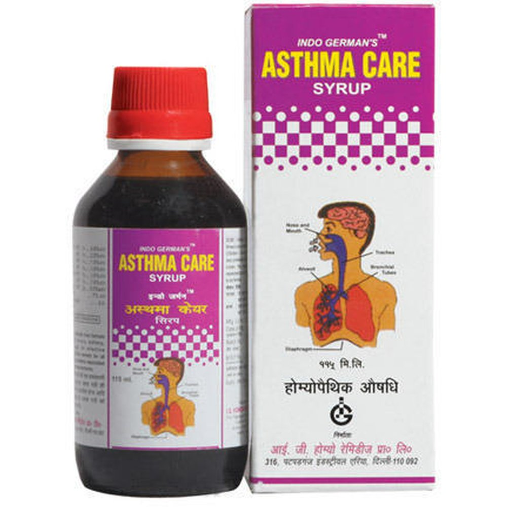 Indo German Asthma Care Syrup (180ml)
