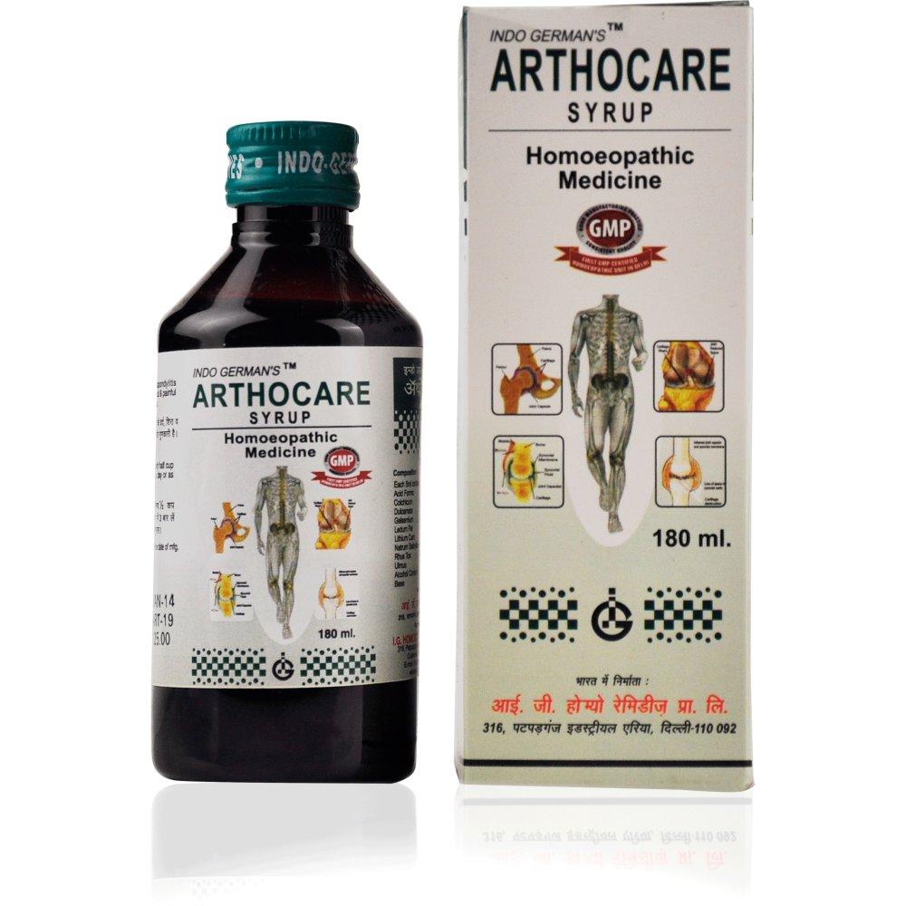 Indo German Arthocare Syrup (180ml)